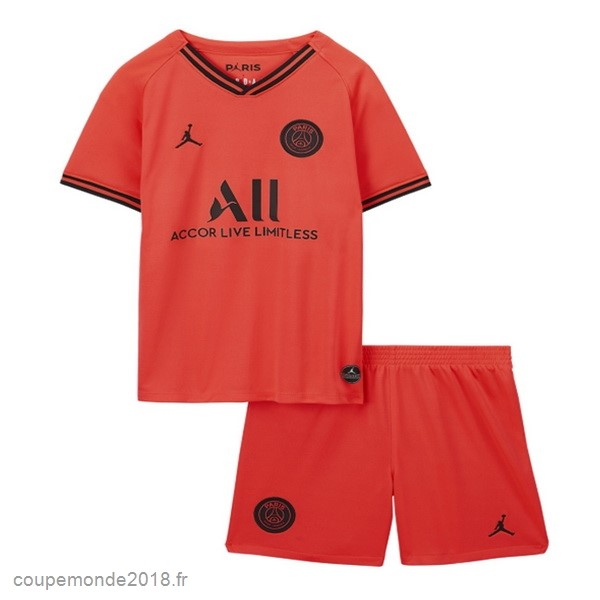 Pas Chers Exterieur Conjunto De Enfant Paris Saint Germain 2019 2020 Orange