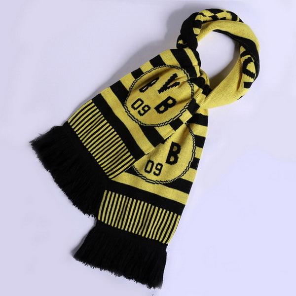 sélectionner pour dernier mode la plus désirable images détaillées Echarpe de football Borussia Dortmund 2018 Noir [FR-1305 ...