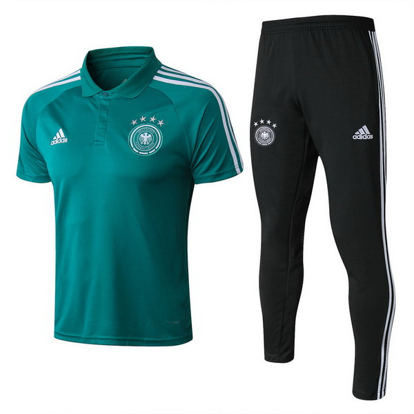 Polo Allemagne Adidas Coupe du monde 2018 Vert